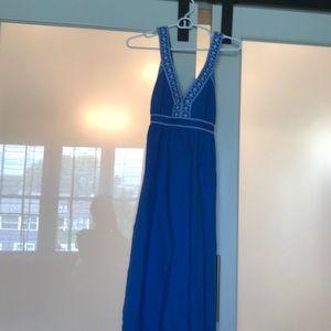 Beautiful blue maxi dress. Size S